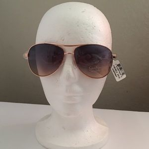 Jessica Simpson Sunglasses Rose Gold Aviator NWT